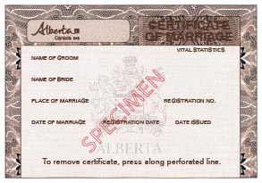 Service alberta how it works sample 1 certificate of marriage small sciox Images